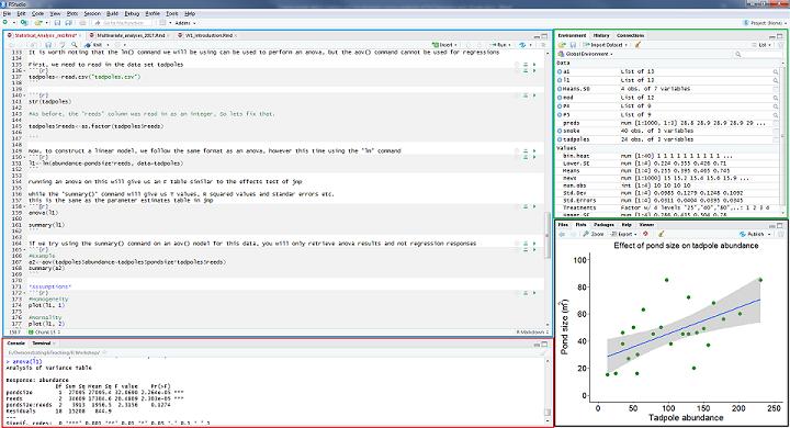 R Studio & Coding Environment :: Staring at R